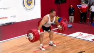 Мужчины +105 кг Рывок ЧМ-2013