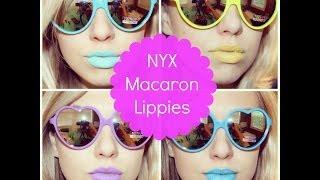 NYX Macaron Lippies Review Thumbnail