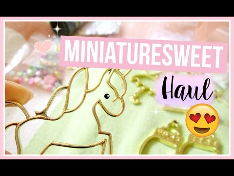MiniatureSweet Craft Haul ☆ (#LIT)