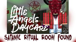 ROBLOX Little Angels Garderie DEVIL WORSHIPING? SALLE RITUELLE DÉMONIAQUE DÉCOUVERTE