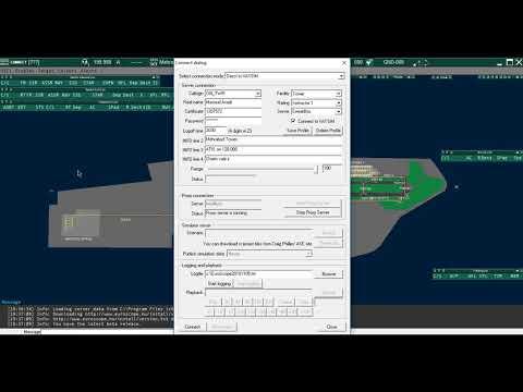 03-How to connect to the VATSIM server via EuroScope
