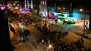 Montreal Revolutionary Student Movement, protest against austerity.