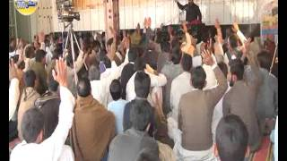 Zakir Qazi Waseem Abbas  Jashan Milad e Mustafa 2016 at Chak 161 Hasowana Jhang
