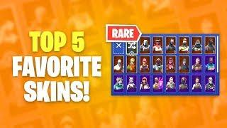 My Top 5 Favorite Fortnite Skins!