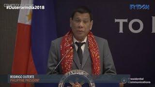 Duterte jokes about '42 virgins' as tourism 'come on'