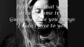Adele- Someone like you lyrics
