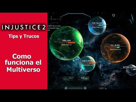 Injustice 2   Tips y Trucos   Cómo funciona el Multiverso