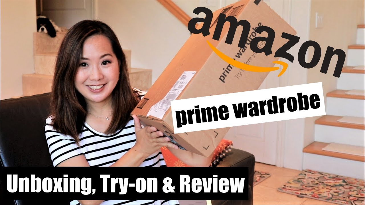 13c730e592 Amazon Prime Wardrobe | Unboxing & Try-On | Affordable Basics from Daily  Ritual | July 2018