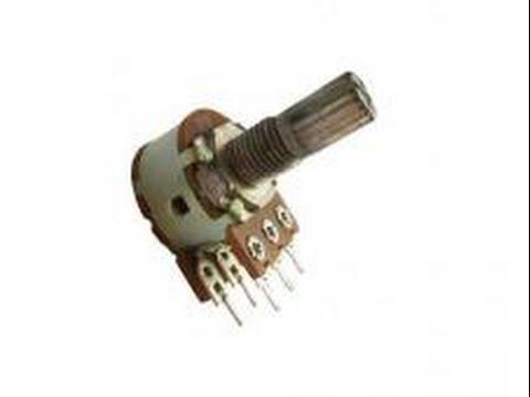 Какие бывают переменные резисторы?