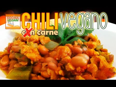 Chili Con Carne Vegano De Soya Cocina Vegan Facil Youtube