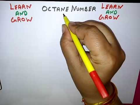 OCTANE NUMBER (हिन्दी) ! LEARN AND GROW