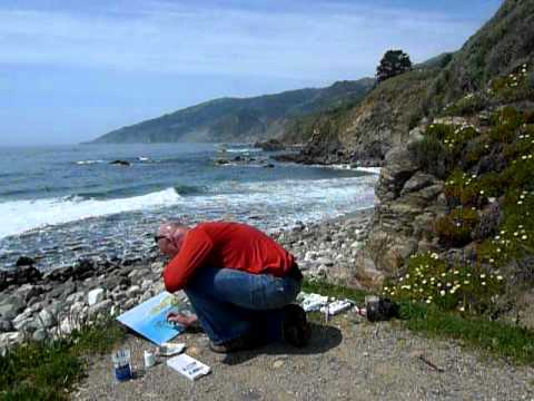 Painting the Big Sur