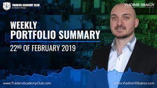 Weekly Performance Summary - February 22nd 2019