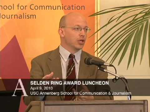 2010 Selden Ring Award Luncheon - T. Christian Miller