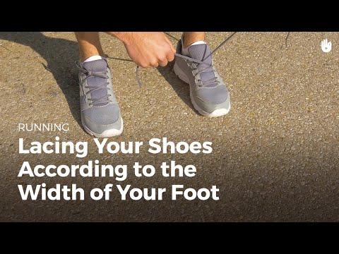 Lacing Your Shoes: Wide & Narrow Feet | Running