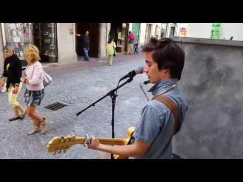 Bruce Springsteen - The Ghost Of Tom Joad (cover, live in Ivrea)