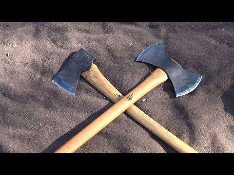 Gransfors Bruk Double Bit Working Axe VS American Felling Ax