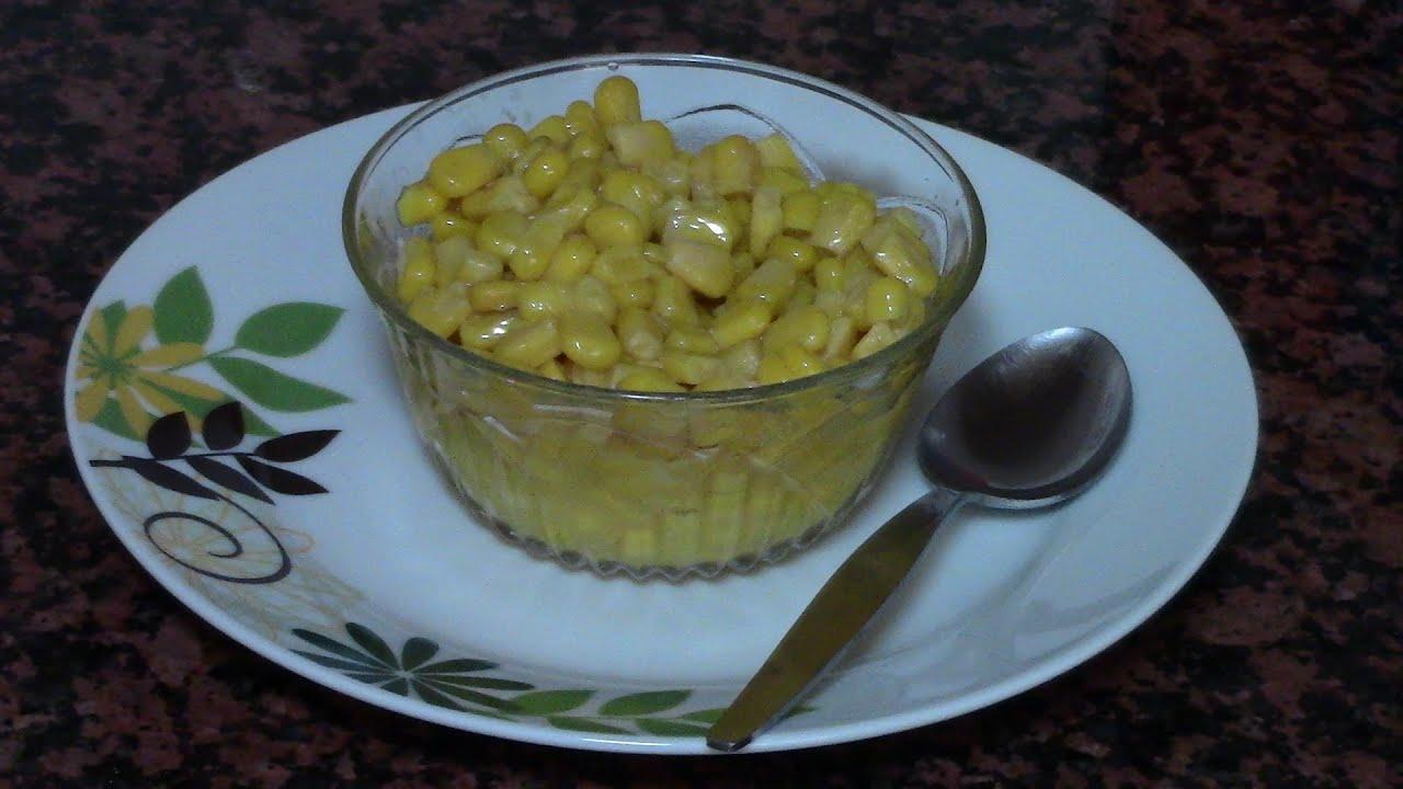 Maiz Dulce Con Margarina Recetas De Cocina Faciles