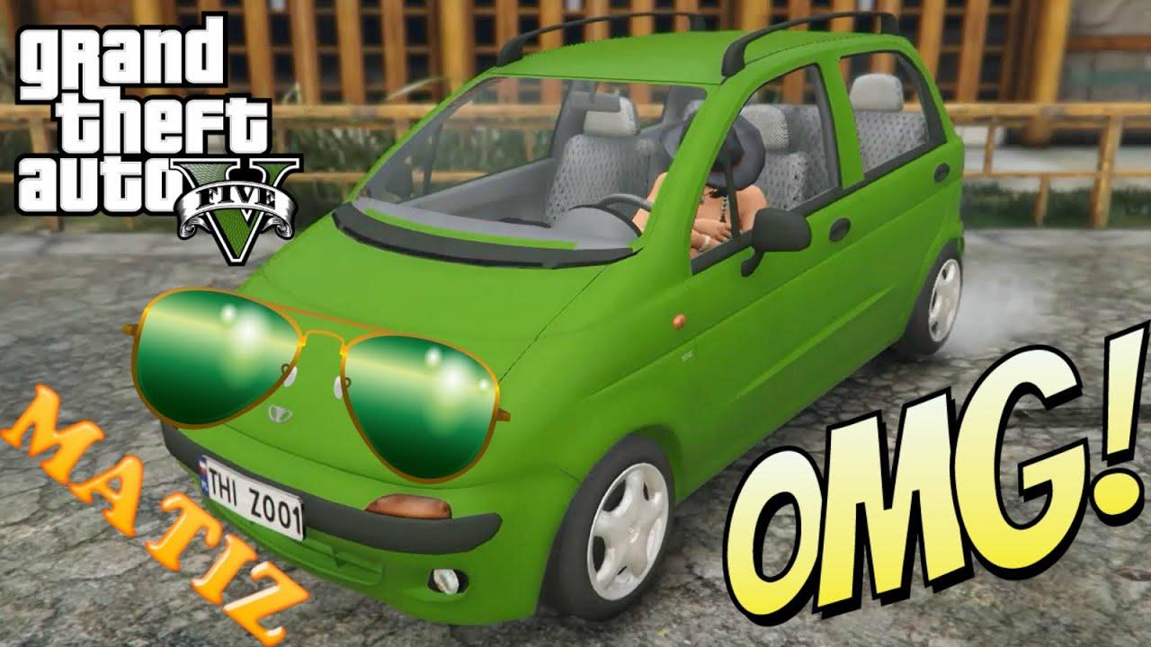 Modernistyczne SZOK! Daewoo Matiz GTA 5 대우의 마티즈 - YouTube VI37