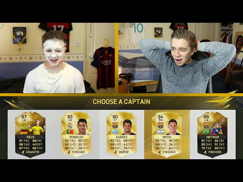 FIFA 16 - THE BEST FUT DRAFT ATTACK POSSIBLE!