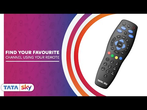 How to Find Your Favourite Channel Option Using Tata Sky