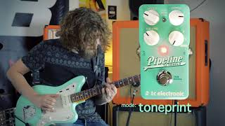 Pipeline Tap Tremolo Demo by Jurren Mekking