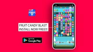 Fruit Candy Blast Match 3 Game: Sweet Cookie Mania screenshot 3