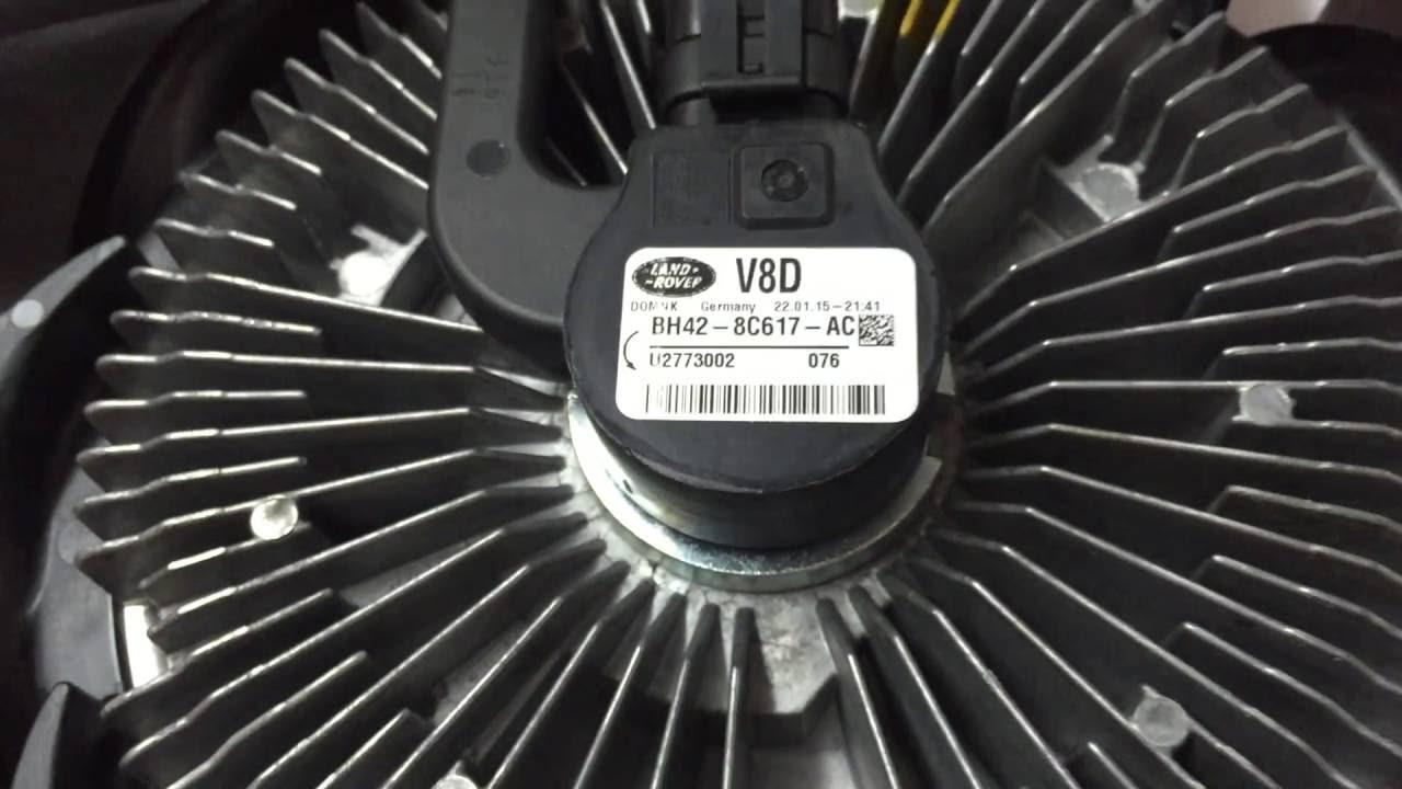 LR022732 Вентилятор охлаждения радиатора Range Rover Vogue L322