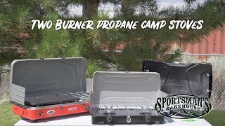 Two Burner Propane Camp Stoves Review