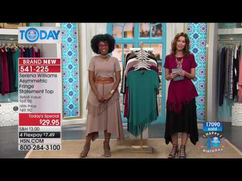HSN | HSN Today: SERENA WILLIAMS Signature Statement Fashions Celebration 07.21.2017 - 08 AM