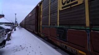 CN Freight, Montreal 15/02/13 Part 2