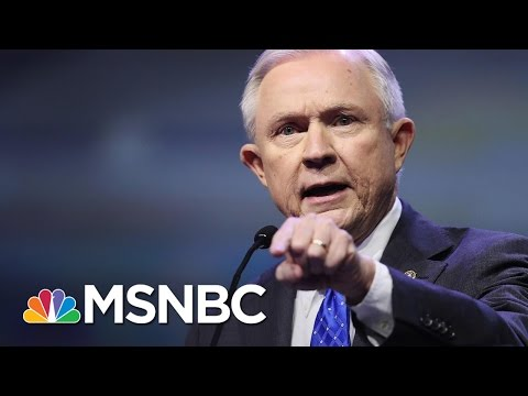 Civil Rights Leaders Confront Attorney General Jeff Sessions | Andrea Mitchell | MSNBC