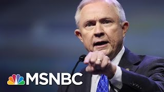 Civil Rights Leaders Confront Attorney General Jeff Sessions | Andrea Mitchell | MSNBC Free HD Video