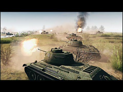 BATTLE OF KURSK - RobZ Realism Mod Gameplay