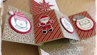 Pivot twist  pop up card stampin'Up! tuto