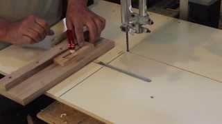 Bandsaw Table Upgrade For Milling Pen Blanks