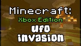 ufo sighting alien invasion in minecraft xbox 360