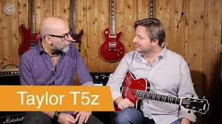 Gambar cover Taylor T5z Borrego Red Akustik-Elektrik Gitarre - SUPERGAIN TV 05