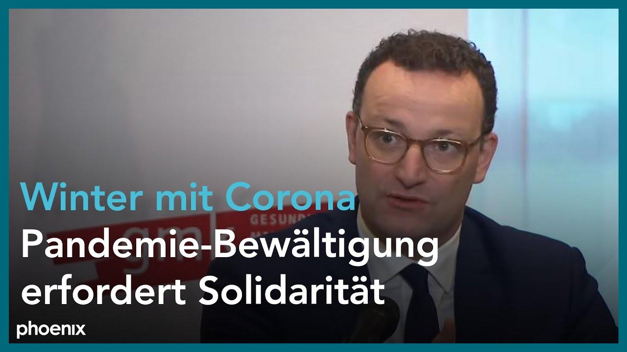 Gesundheitsministerkonferenz: Jens Spahn & Dilek Kalyci zu Ergebnissen
