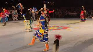 Miss Indian World 2018 - Gathering Of Nations | Powwow Dance Competition Clip 1