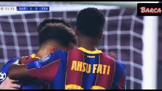 FC Barcelona vs Ferencvaros 5-1 Highlights | Barcelona vs Ferencvaros | Barca vs Ferencvaros