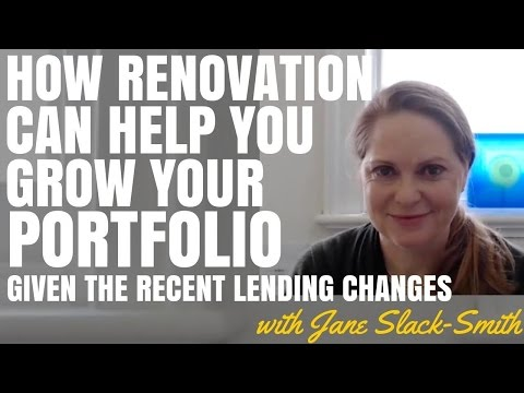 How Renovation Can Help You Grow Your Portfolio Given Recent Lending Changes (Ep304)