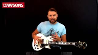 Epiphone Les Paul Custom PRO Electric Guitar Review