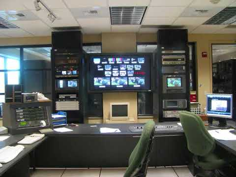 WUSF-TV Public Media Studios ''Master Control Room'' Retirement (2017)