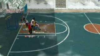freestyle street basketball game