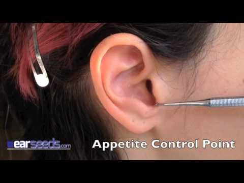 Appetite Control / Hunger Point Auriculotherapy Point - YouTube