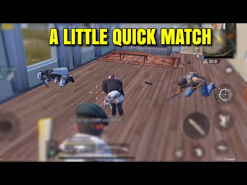 A LITTLE QUICK MATCH - PUBG Mobile - Smg's Are Very Good!