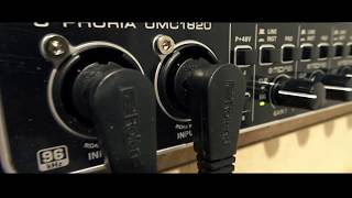Behringer UMC 1820 interface with Cubais on iPad (music starts 2.08)