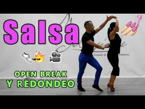Tutorial de SALSA en 1 | Open Break y Redondeo Paso a Paso || Dance On Fire 👟🔥