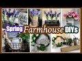 Dollar Tree Farmhouse DIYS | SPRING FARMHOUSE DECOR Ideas
